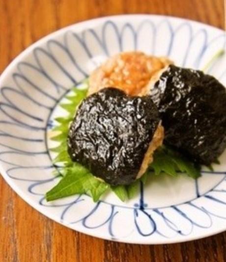 *お弁当おかず* 豚挽肉の簡単海苔つくね