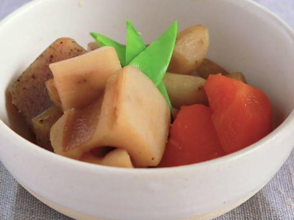 簡単 根菜の煮物