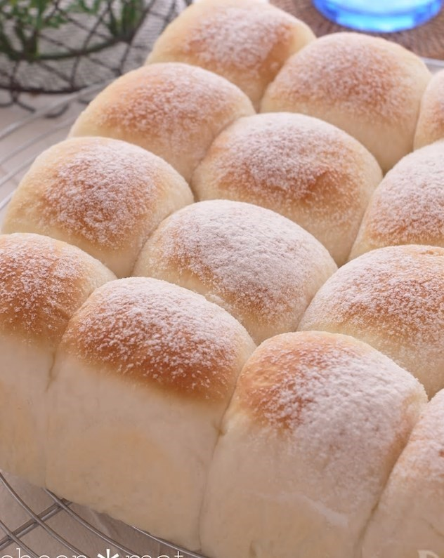 練乳ミルク♪ちぎりパン♡ふわふわやわらか〜