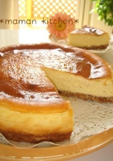 簡単★しっとり濃厚チーズケーキ