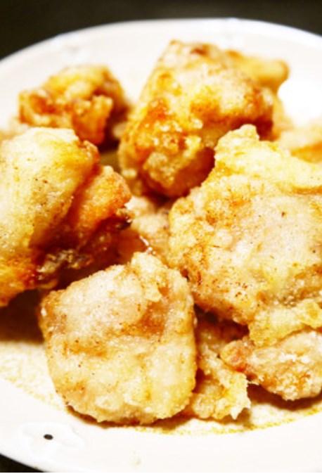 油はフライパン5mm!鶏もも肉の塩唐揚げ