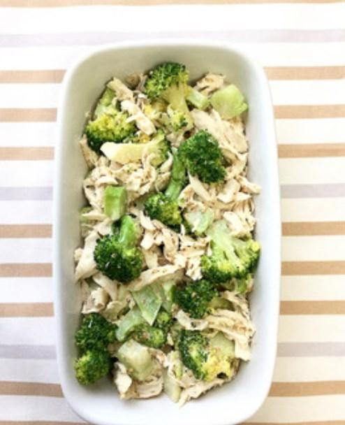 ささみとブロッコリーの常備菜。