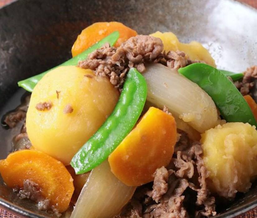 圧力鍋で作るシンプル肉じゃが レシピ・作り方