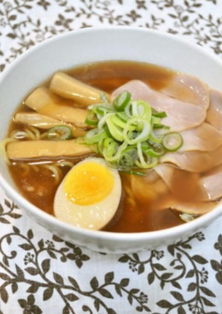 豚の角煮♡リメイク♡醤油ラーメンスープ