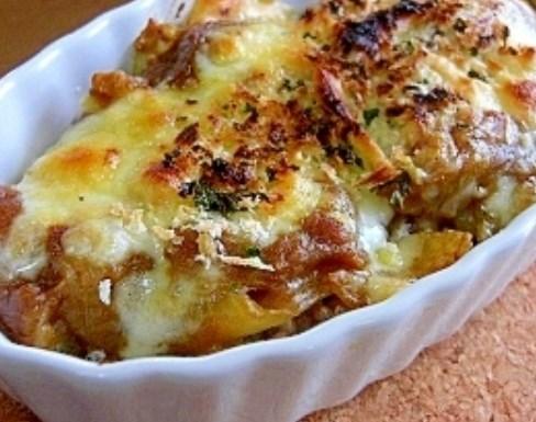 リメイク*焼きチーズカレードリア レシピ・作り方