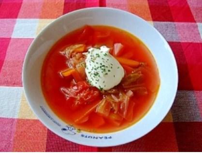 ロシア人の先生に教わった ボルシチ レシピ