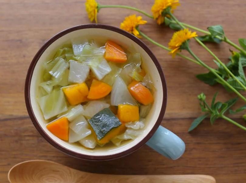 減塩スープの作り方