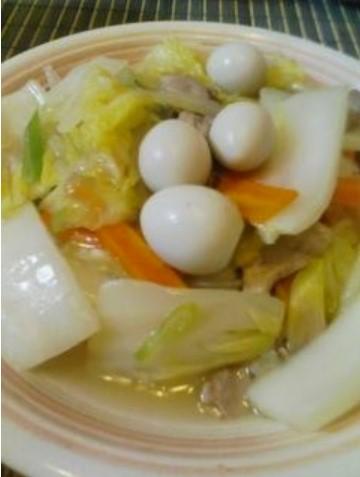 白菜たっぷり減塩八宝菜 レシピ・作り方