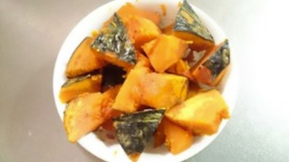 黄金比!簡単!減塩!無水!かぼちゃの煮物