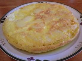スパニッシュオムレツポテトと卵で簡単美味