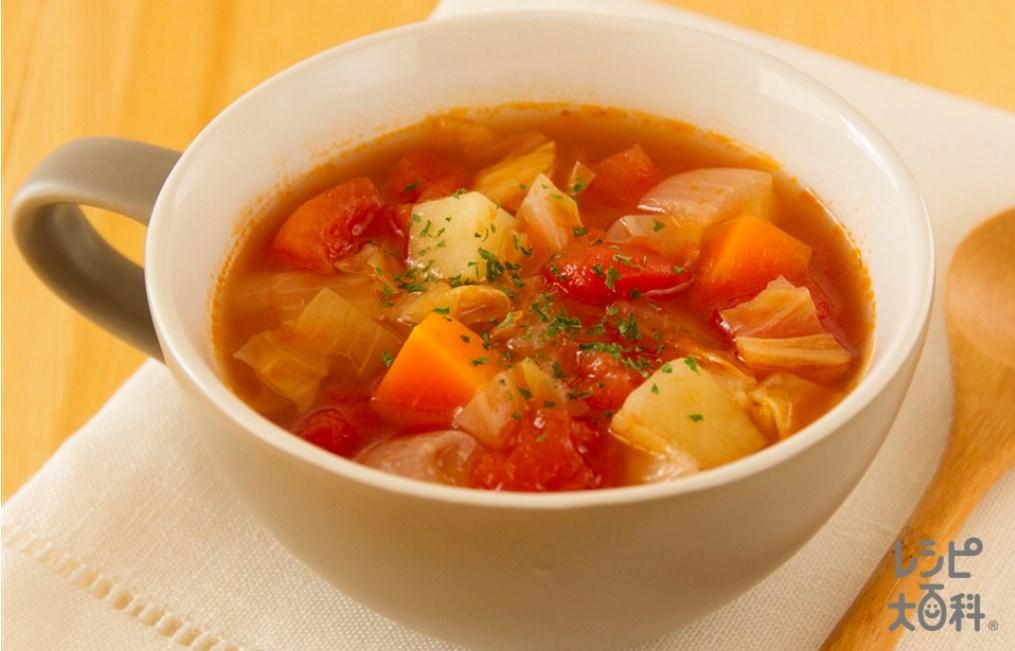 【味の素】たっぷり野菜のミネストローネ