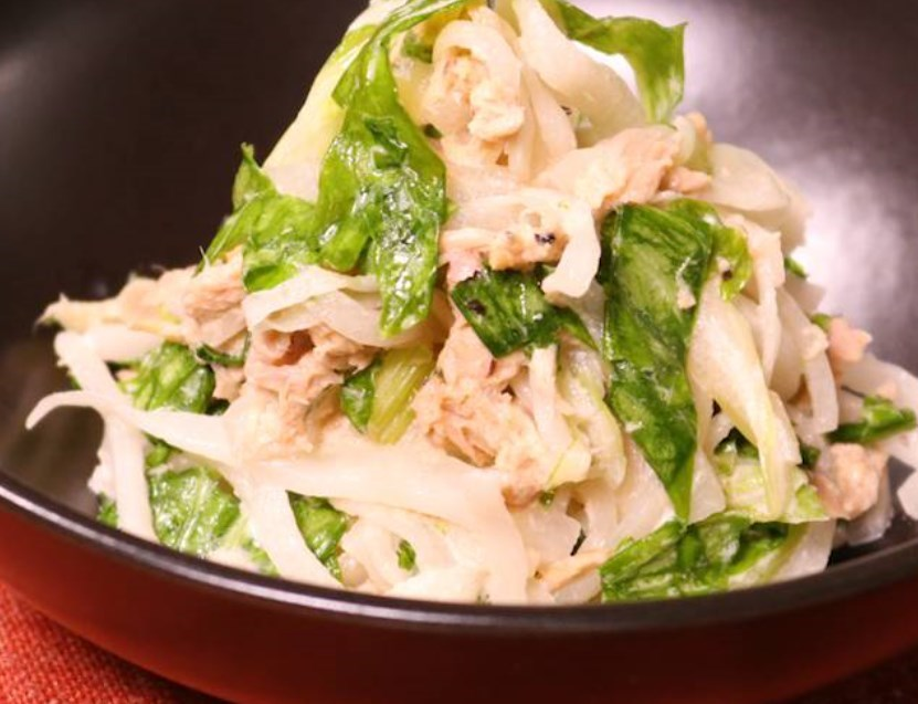 マヨポン酢で!大根とセロリのツナ和えサラダ レシピ・作り方