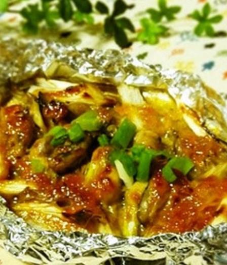 ✿牡蠣のマヨ味噌ホイル焼き✿