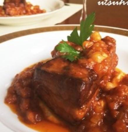 絶品✨フランス田舎風 豚肉のトマト煮込み