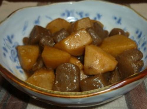 ✿里芋とコンニャクの簡単炒め煮✿