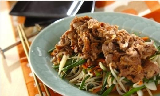 絶品甘辛ダレで!ジンギスカン風ラム肉の炒め物
