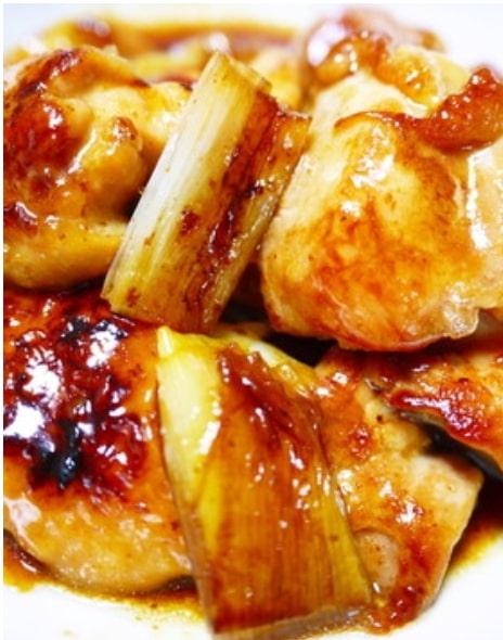 ★ズボラな焼き鳥★串なし!鶏もも肉と白葱