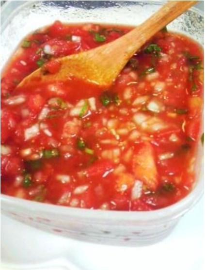 メキシコ料理の基本その1 サルサ! レシピ・作り方