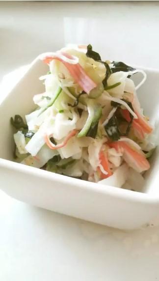 作り置きOK☆ミネラルたっぷり大根サラダ