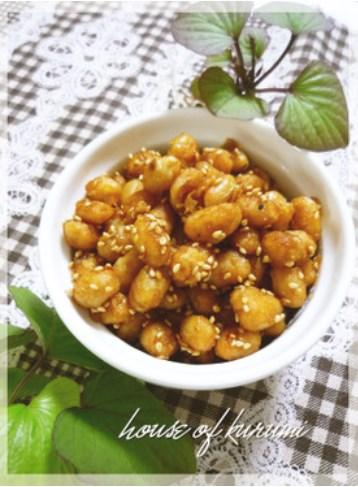 ✿大豆の水煮シャカシャカ炒め✿