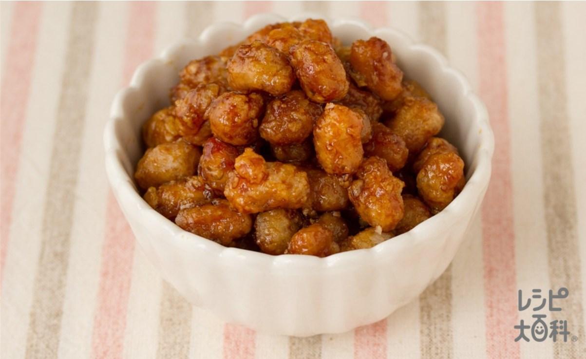 大豆の甘辛煮和え