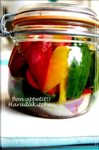 消費、保存、常備に✿夏野菜の簡単ピクルス