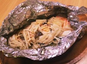 話題入り感謝♡超簡単絶品鮭のホイル焼き