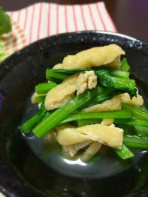 【話題入り】小松菜の煮浸し