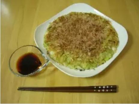 豆腐とキャベツのお好み焼き♪