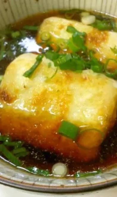 簡単☆めんつゆで揚げ出し豆腐