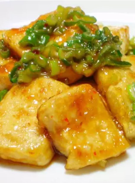 甘辛♡こってり♡豆腐ステーキ