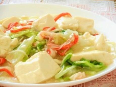 カニカマIN白菜と豆腐のトロトロ旨煮