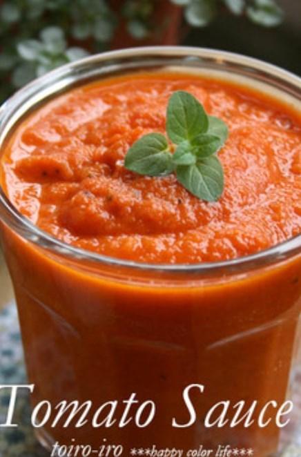 トイロ家の簡単で本格的なトマトソース♪