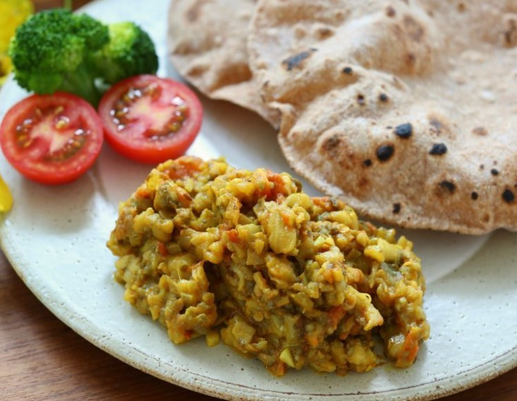 ベジタリアンのレシピ。人気インド料理店のなすカレー。