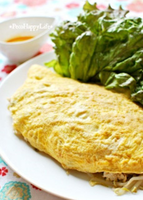 ヘルシー食材で簡単ベトナム料理バインセオ