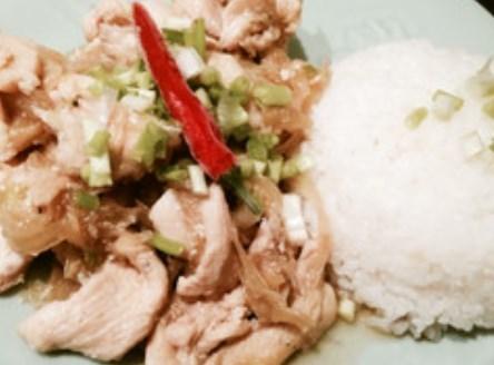 ベトナム料理★鶏肉と生姜のヌクマム炒め