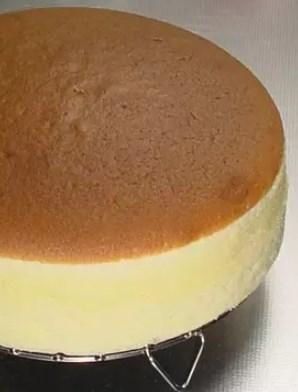 財布に優しい♪スフレチーズケーキ