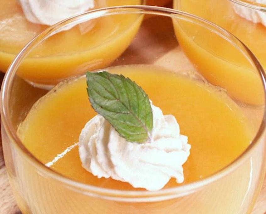 オレンジジュース寒天 レシピ・作り方