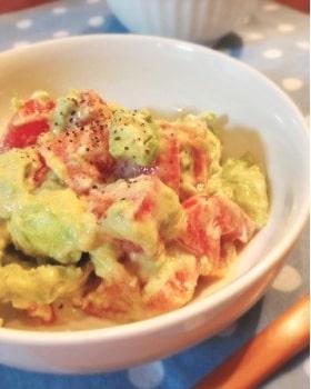 アボカドとトマトのサラダ 2