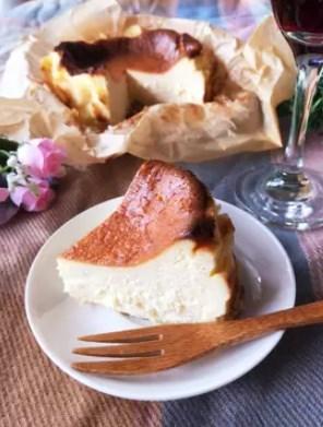 バスク風チーズケーキ♡バスチー