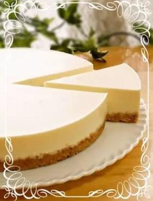 濃厚☆簡単☆レアチーズケーキ(プレーン)