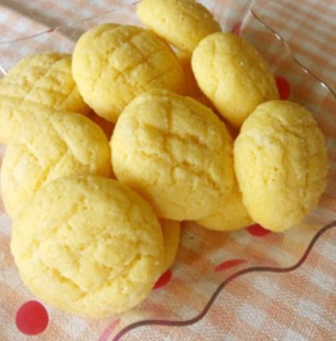 HMで簡単♪メロンパンみたいなクッキー