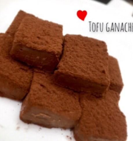 材料3つ!お豆腐で♡とろける生チョコ