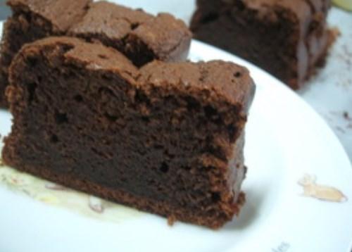 しっとり生チョコケーキ