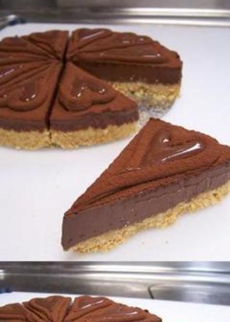 生チョコ風★とろけるチョコチーズケーキ♪