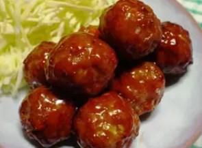☆野菜たっぷり肉団子☆テリヤキソース