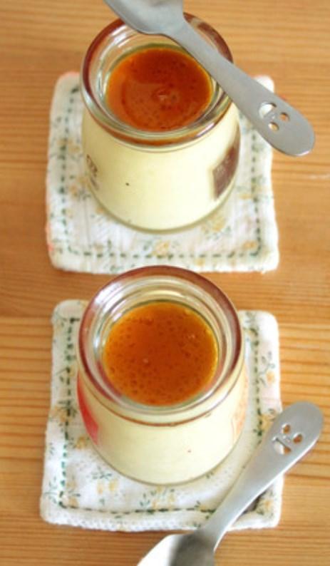 寒天で作る。濃厚ヴィーガンかぼちゃプリン