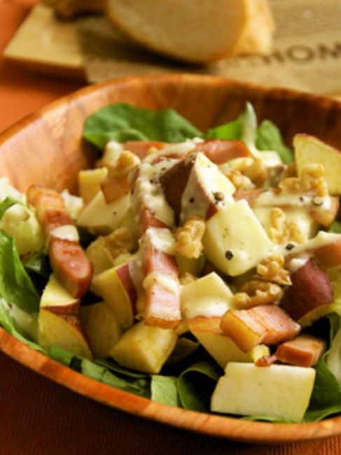 さつま芋と林檎の秋サラダ