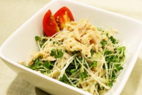 ブロッコリースプラウトもりもり簡単サラダ