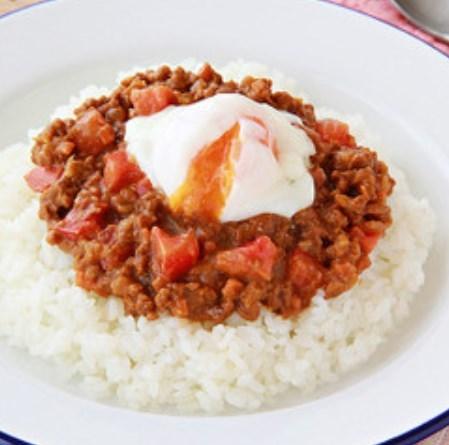 大豆のお肉のキーマカレー